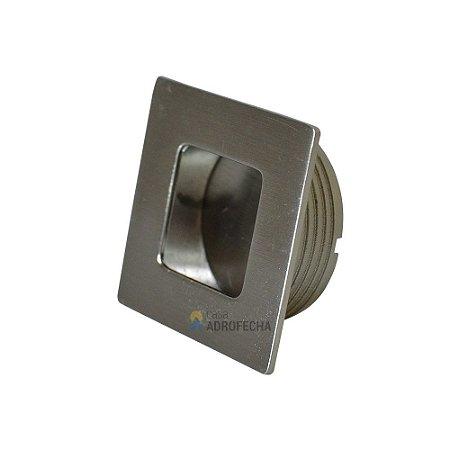 Puxador de Embutir Tess 35mm