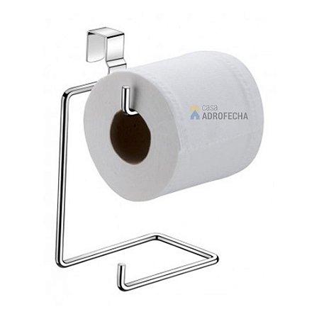 Porta Rolo Duplo Cromado para Caixa Aclopada