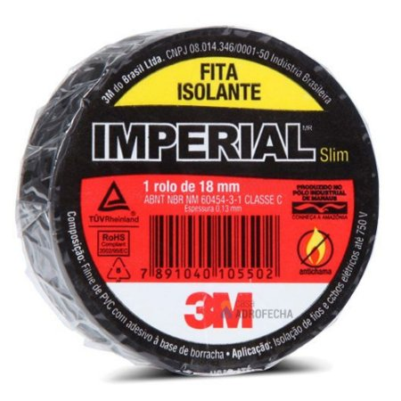 Fita Isolante 3M Imperial 18mm x 10m