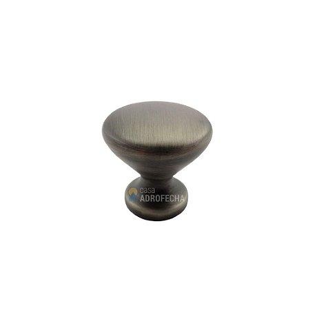 Puxador Ponto Cup Níquel Velho 27mm Zen Design