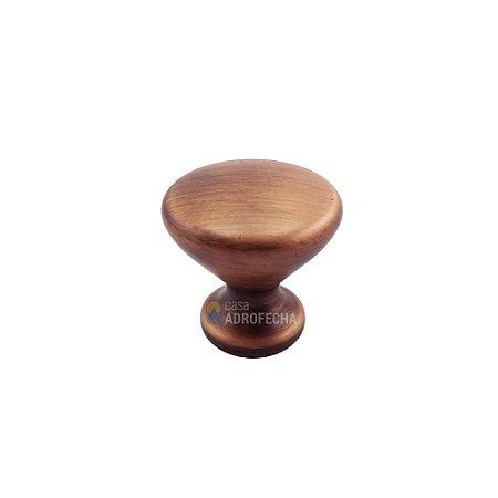 Puxador Ponto Cup Vecchio Cobre 27mm Zen Design