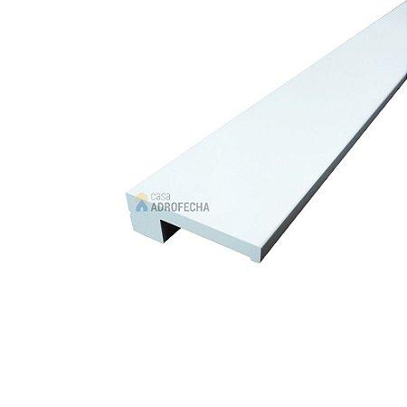 Puxador Scandinavian Pintado Branco 640mm Zen Design