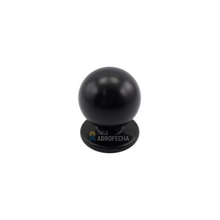 Puxador Bola Preto 25mm