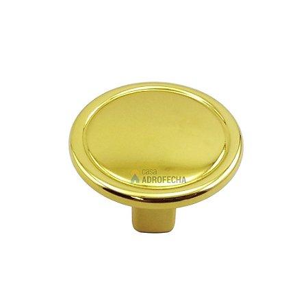 Puxador Ponto 1764 Grenade Dourado 30mm