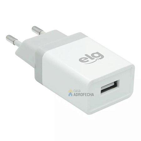 Carregador de Parede Universal USB 1A Bivolt WC1AE Branco
