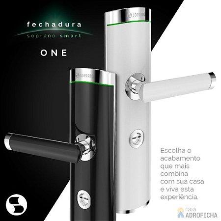 Fechadura Inteligente Soprano Smart One com Aplicativo em Português