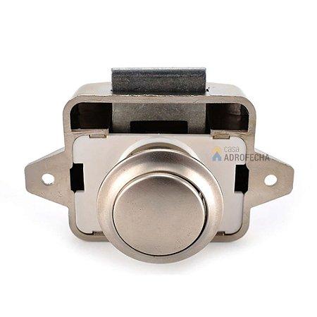 Fecho de Sobrepor Push-Lock Mini 211.61.606 Hafele