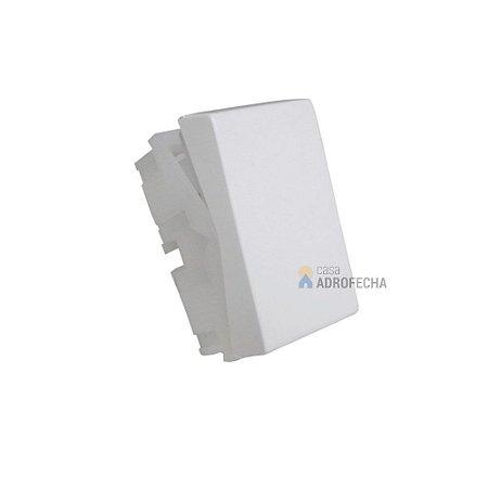 Módulo Bloco Interruptor Retangular Simples 10A 250V~