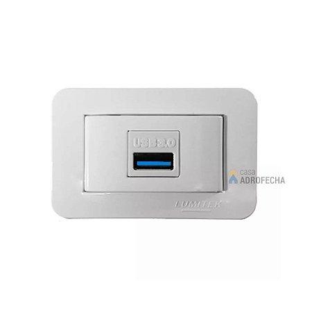 Tomada Retangular para Dados USB 3.0