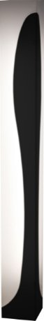 Coluna Valence - 157x18x18cm - Preta