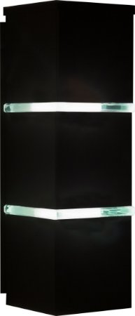 Arandela de Alumínio - 32x10x11cm - Branca