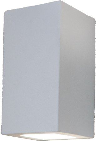 Arandela de Alumínio 15x8x8cm - Branca
