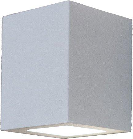 Arandela de Alumínio - 10x8x8CM - Branca