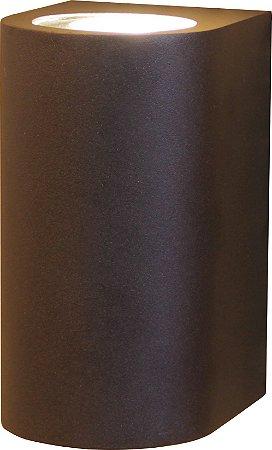 Arandela de Alumínio 15x10x8cm Preto D&D AR-557/1