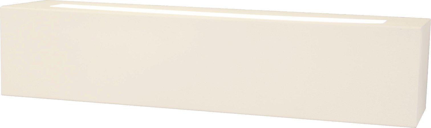 Arandela de Alumínio - 33x7x8cm - Branca