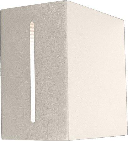 Arandela de Alumínio - 12x12x7cm - Branca