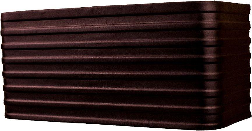 Arandela de Alumínio - 24x11x10cm - Preta