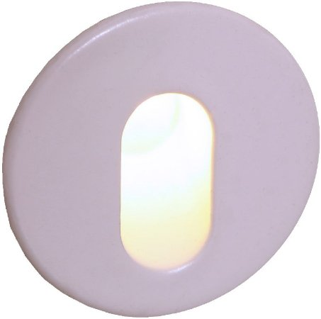 Balizador Branco Redondo AC85-265V 1W IP20