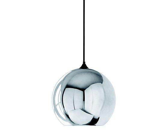 Pendente Esfera Cromado Ø25 1XE27 MART 4145