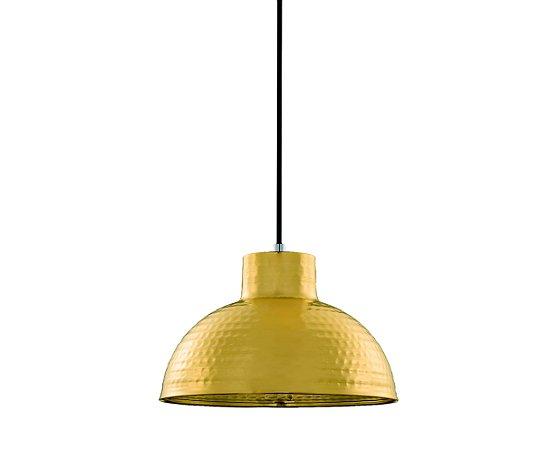 Pendente Metal Dourado 1XBulbo MART 5765