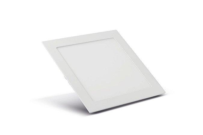 Luminária Embutir LED Quadrado 3.000k Quente 20W 22,5x22,5 SaveEnergy