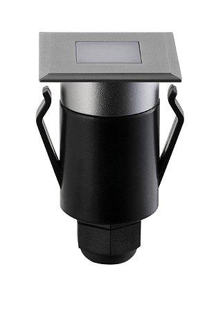 Balizador de Solo Quadrado Spur Luz Geral 1W 3.000k 20lm Bivolt Stella STH7710/30