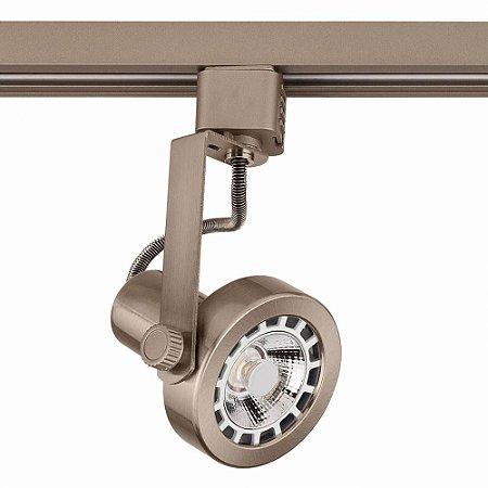 Spot AR70 Satin Silver para Trilho Eletrificado Satin Silver Stella SD1170ST