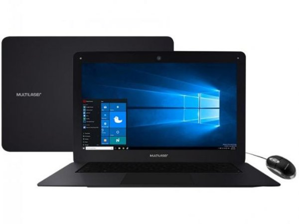 "Notebook Multilaser Legacy Intel Quad Core 14"" PC101"