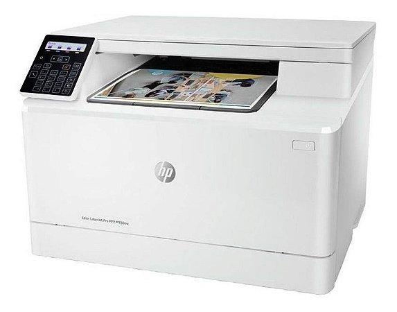 Impressora Hp Laser C/ Wi-fi Color Pro M180nw 110v