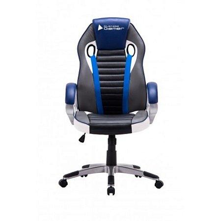 Cadeira Gamer Bluecase Azul Preto