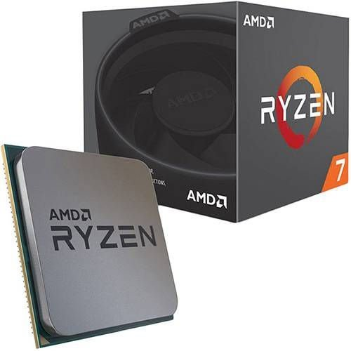 Processador AMD Ryzen 7 2700 3.2GHz (4.1GHz Turbo) 20MB AM4 YD2700BBAFBOX
