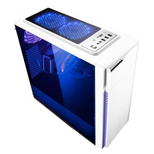 Gabinete BG-015W White Bluecase Gamer