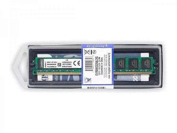 Memoria Kingston 2GB KVR800D2N6 DDR2