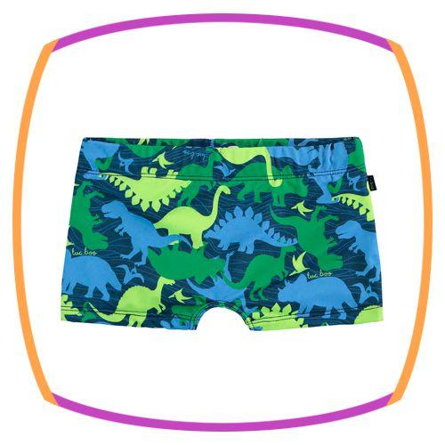 Sunga infantil com proteção UV 50+ estampa dinossauro