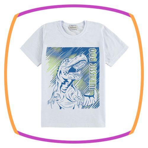Camiseta infantil estampa dinossauro