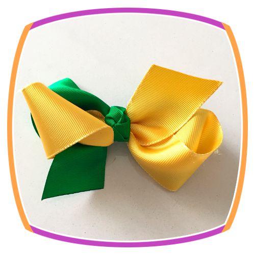 Bico de Pato verde e amarelo