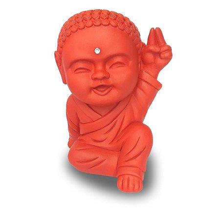 Monge Paz e Amor Grande (20cm) Vermelho