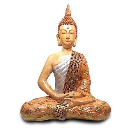 Buda Nirvana Meditando Grande (38 cm)