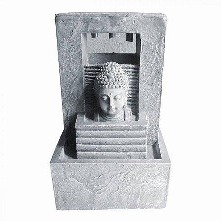 Fonte de Água Buda Monumento em Resina (18cm)