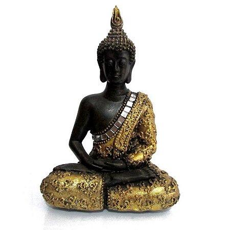 Buda Tailandês com Espelhos (14cm)