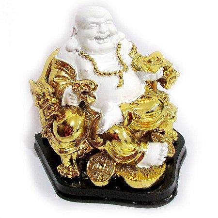 Buda Alegria e Prosperidade Sentado (14cm)