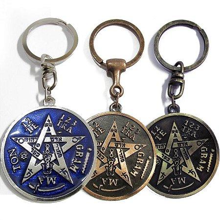 Chaveiro Tetragrammaton (5cm)