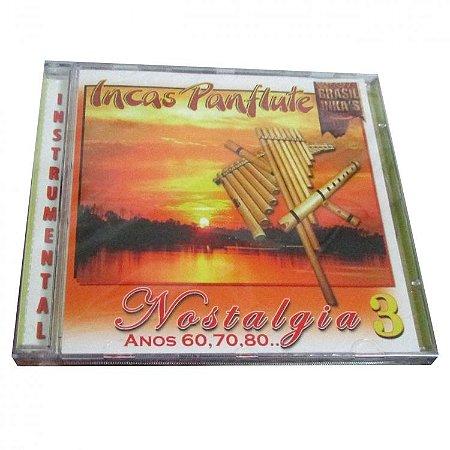 CD Brasil Inkas Panflute Nostalgia 3