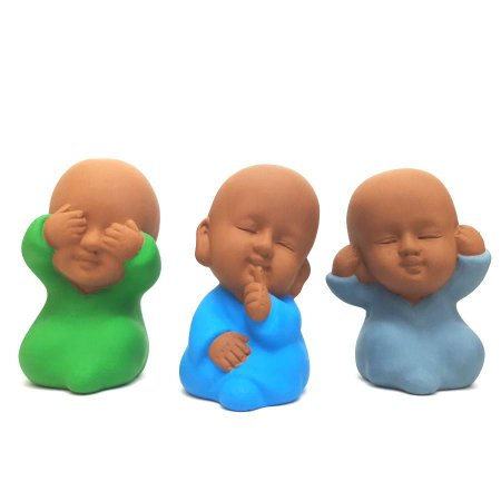 Trio de Monges Baby (Não Falo, Não Escuto, Não Vejo)