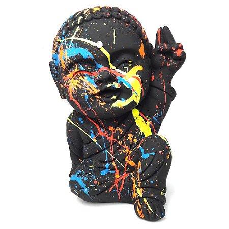 Monge Paz e Amor Grande (20cm) Urban Art