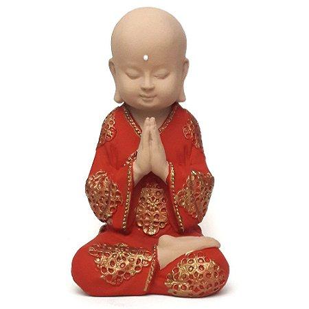 Estátua Buda Baby Gratidão (19cm)