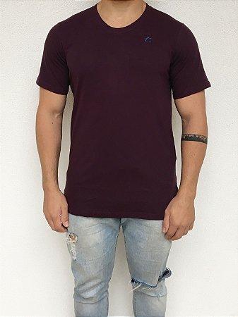 Camiseta Longline Vinho Bordô