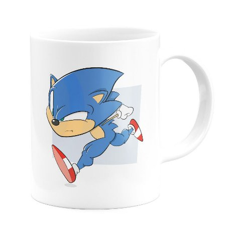 Caneca Personalizada Sonic the Hedgehog