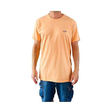 Camiseta Billabong Arch Wave I Salmão