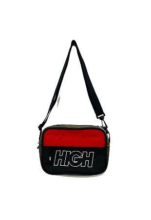 Shoulder Bag Black/Olive Green